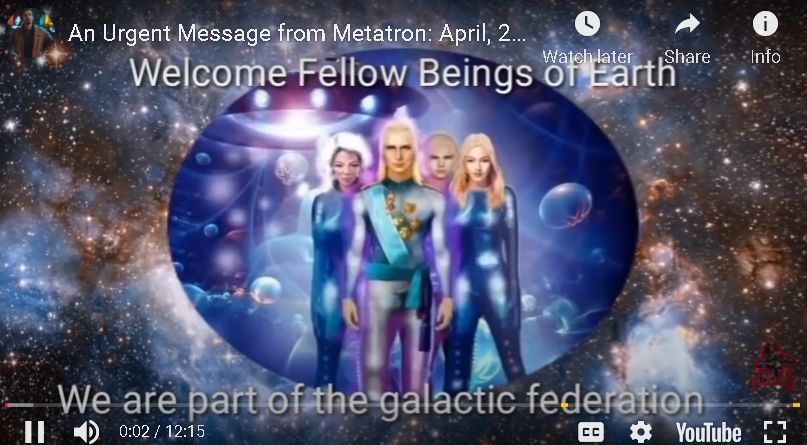 An Urgent Message from Metatron: April, 2021 & 8 Levels of 1st Density Consciousness (2021)